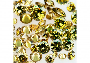 Natural Olive Melee Diamonds