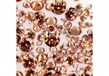 Natural Chocolate Melee Diamonds