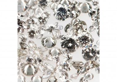 Natural Gray Melee Diamonds