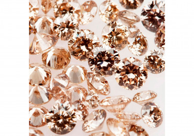 Natural Champagne Melee Diamonds