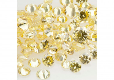 Natural Canary Melee Diamonds