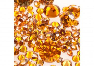 Natural Cognac Melee Diamonds